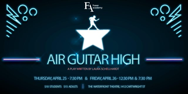 Spring Play: Air Guitar High – Get Your Tickets!