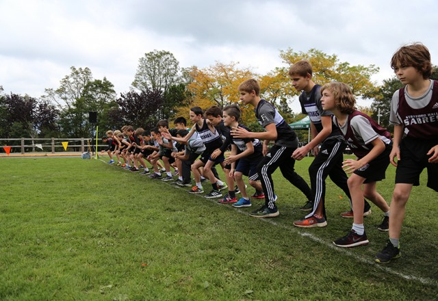 Sr (Gr 8-12) Cross Country Running