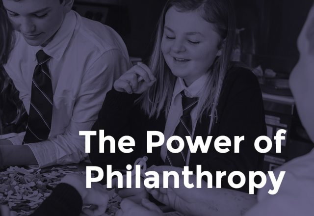 Philanthropy at Fraser Academy