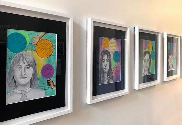 Self-Reflections through Art