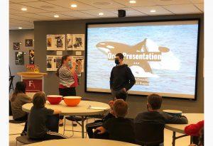 Vancouver Aquarium Presentation at Fraser Academy