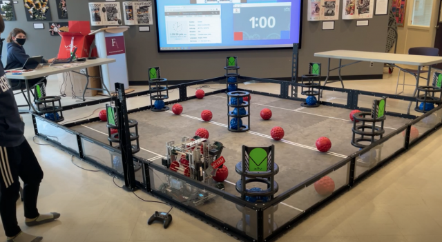 2021 Fraser Academy Robotics Team Update
